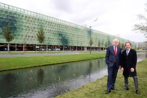 Foto verkoop parkeergarage Medimall Rotterdam Vestia Holland Immo Groep