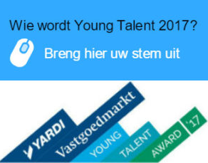 Yardi Vastgoedmarkt Young Talent Award 2017